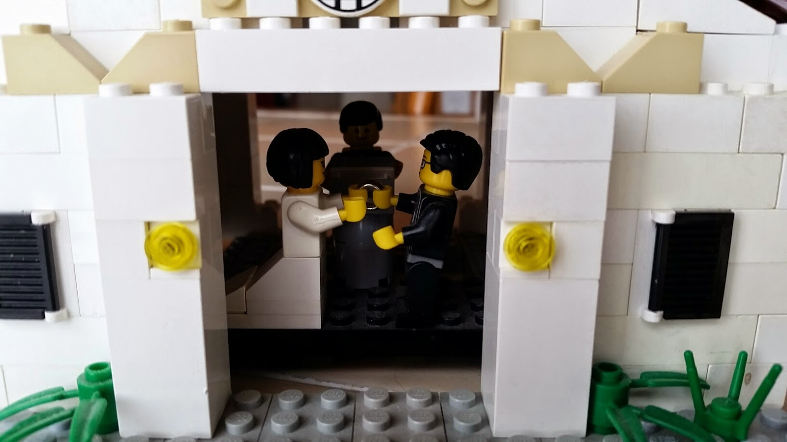 Homemade LEGO Gifts