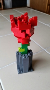 An everlasting rose for Mother's Day.
