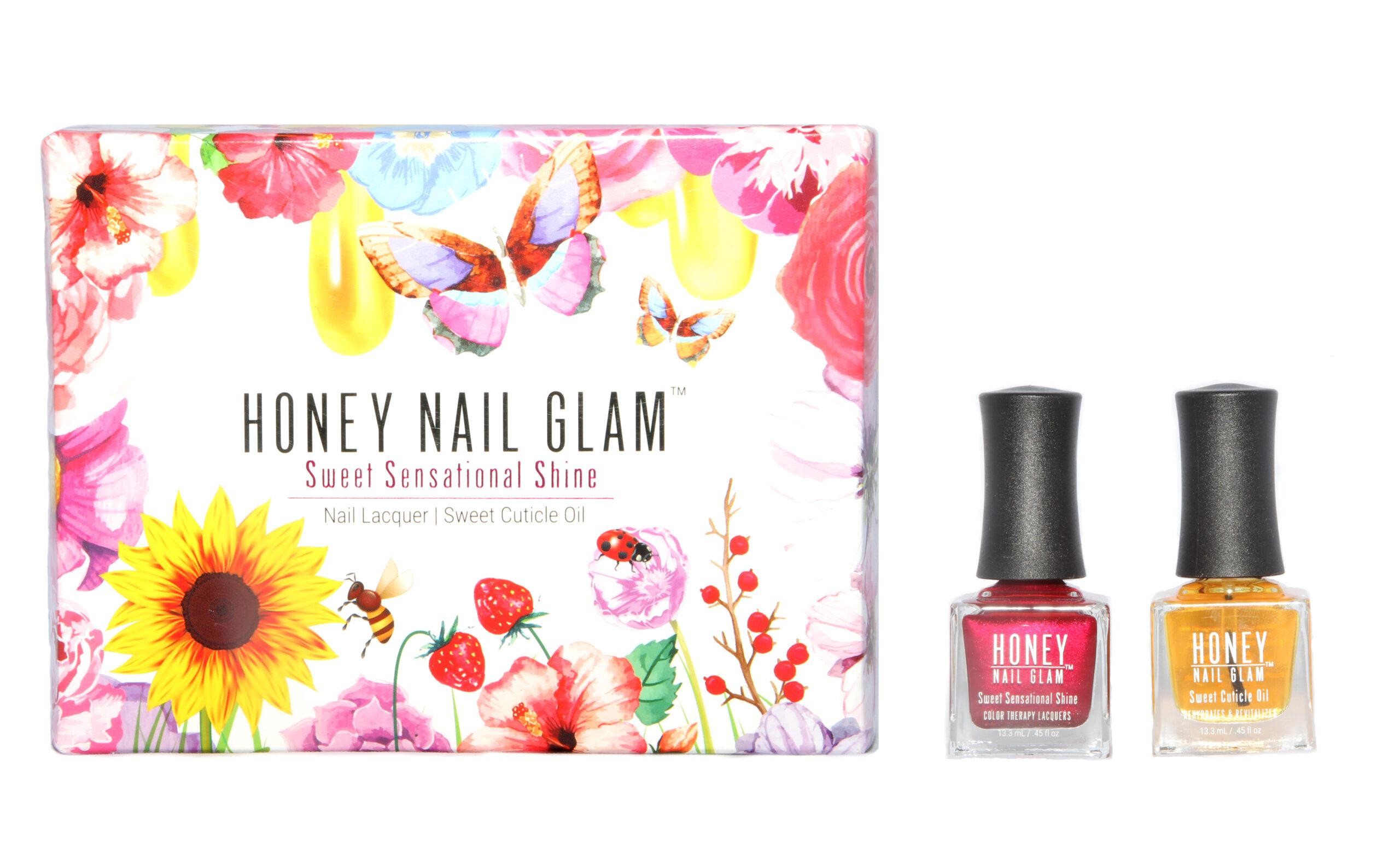 Honey Nail Glam, nails, body care