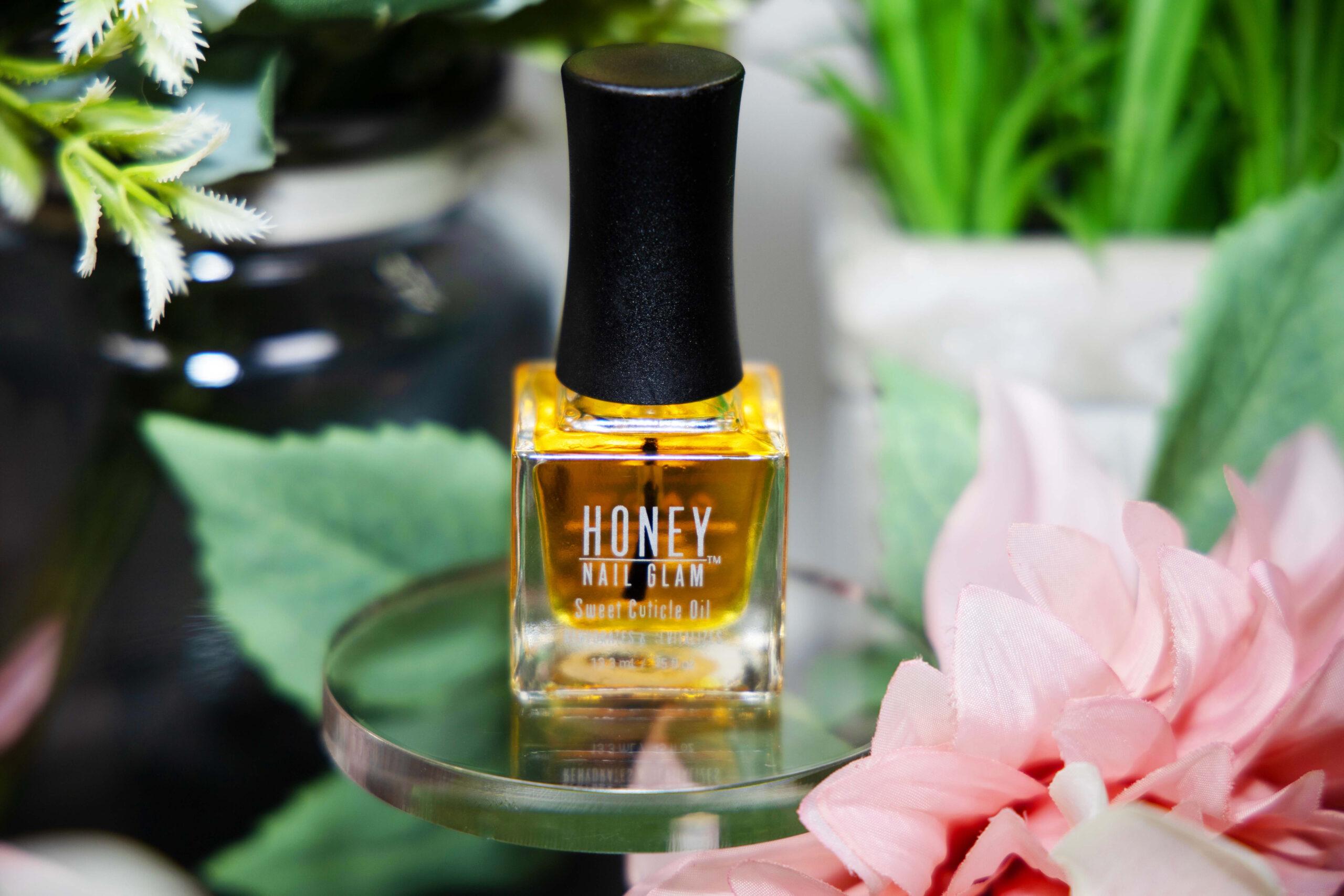 honey nail glam, beauty, nailcare