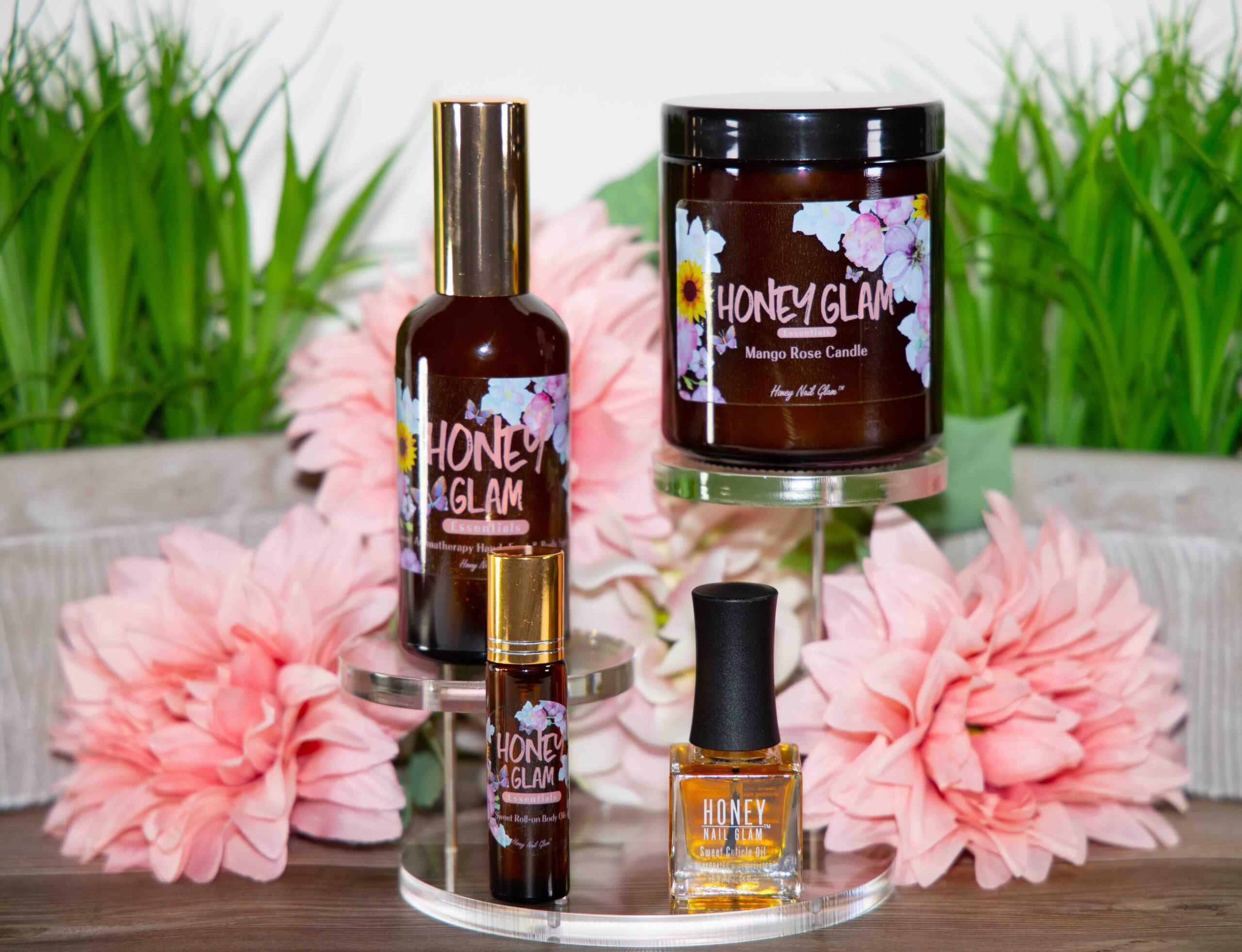 Honey Nail Glam, beauty