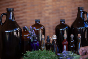 Medicine making bottles
