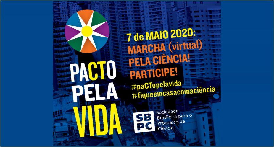 APUR CONVOCA TODOS/AS PARA MARCHA VIRTUAL PELA CIÊNCIA NESTA QUINTA-FEIRA