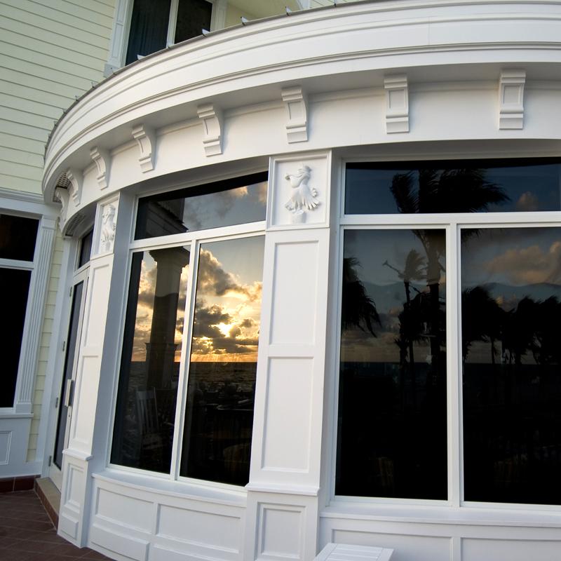 Chemcrest Decorative Moulding on Exterior