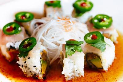 Jalapeño Yellowtail Sashimi