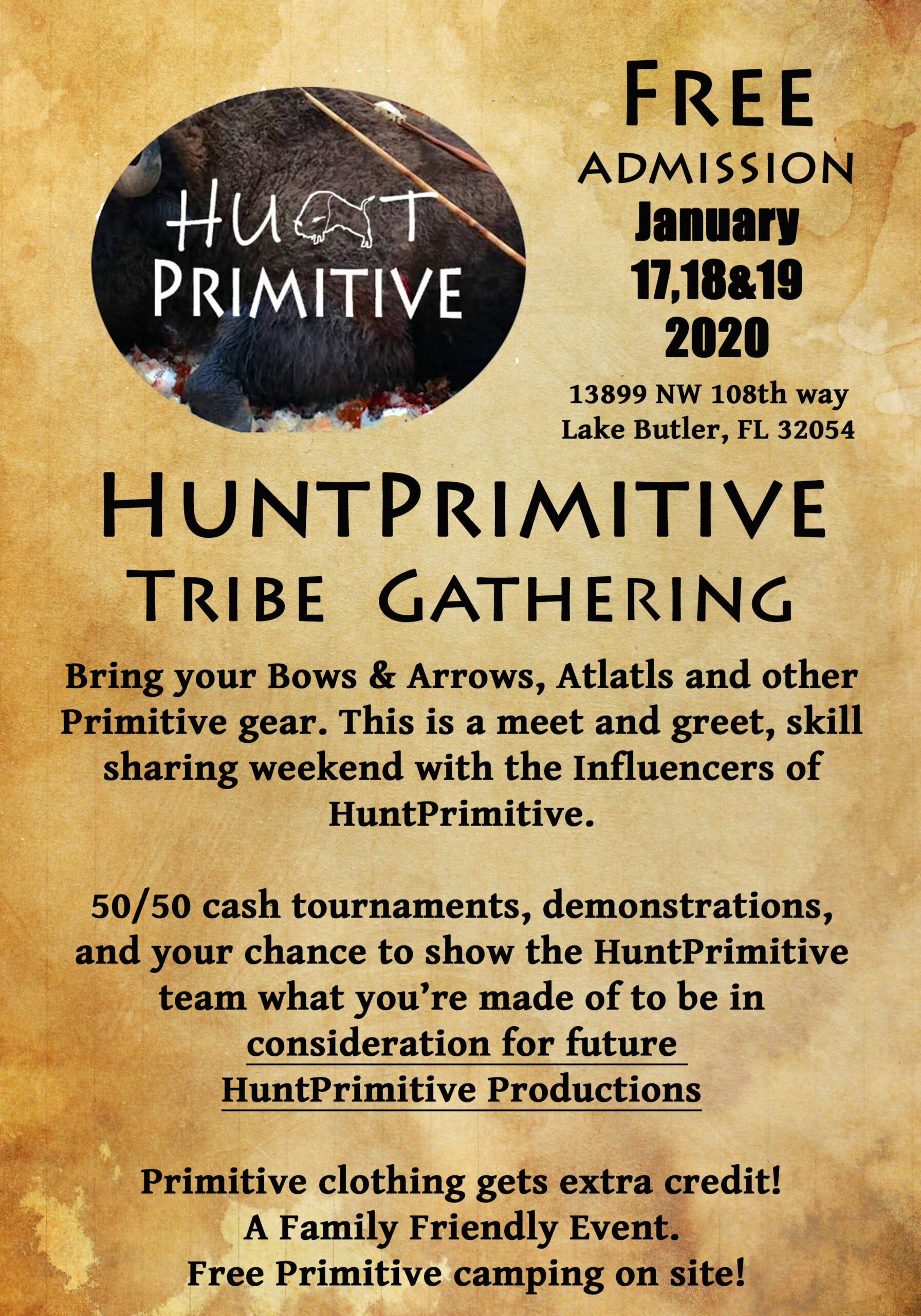 HuntPrimitive-Gathering