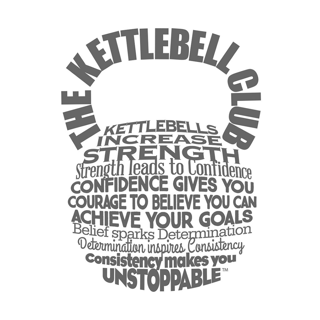 The kettlebell club logo