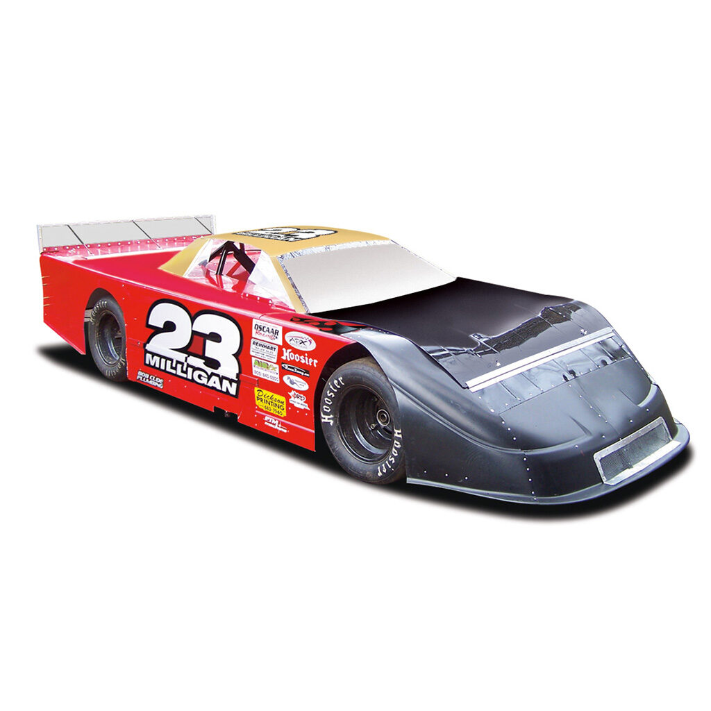 Paul Milligan 23 super late model