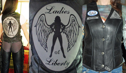 ladies of liberty patch set libertarians mc