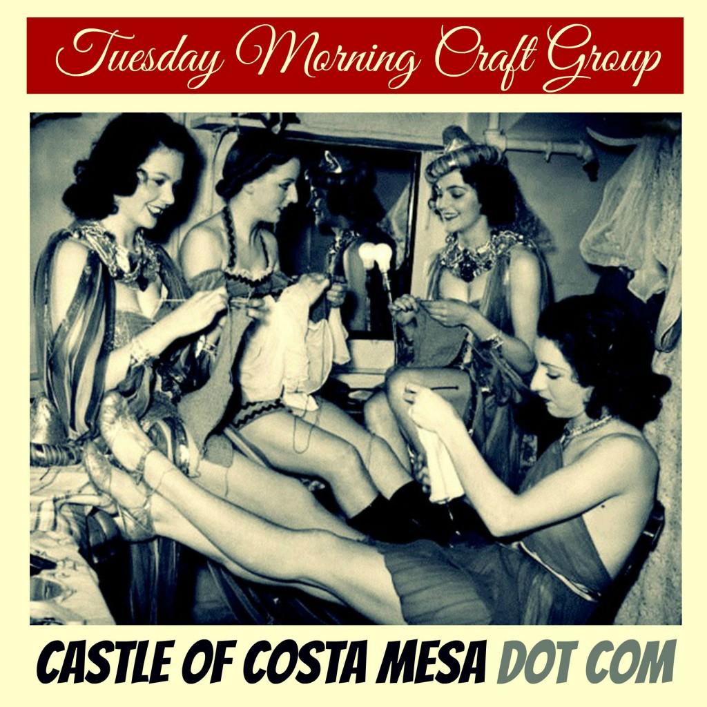 150913 Tuesday morning craft group. Waldorf School of Orange County. Show girls. CastleofCostaMesa.Com