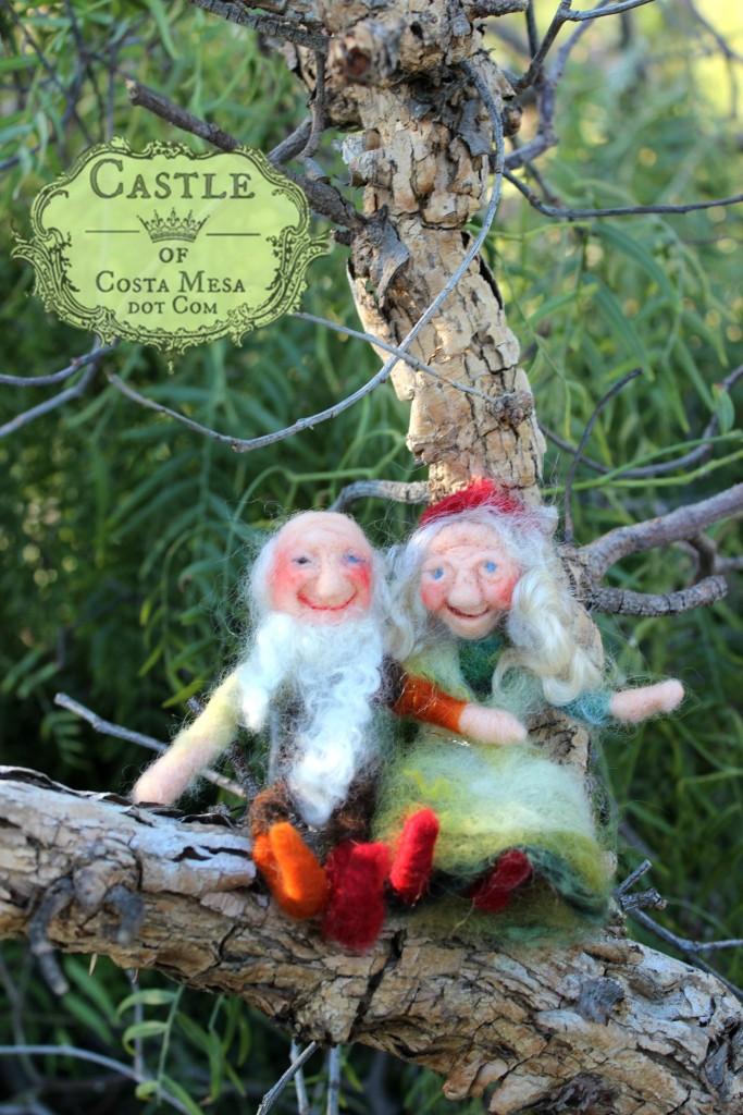 5049 160204 Sid and Princess Valentine Gnome Couple