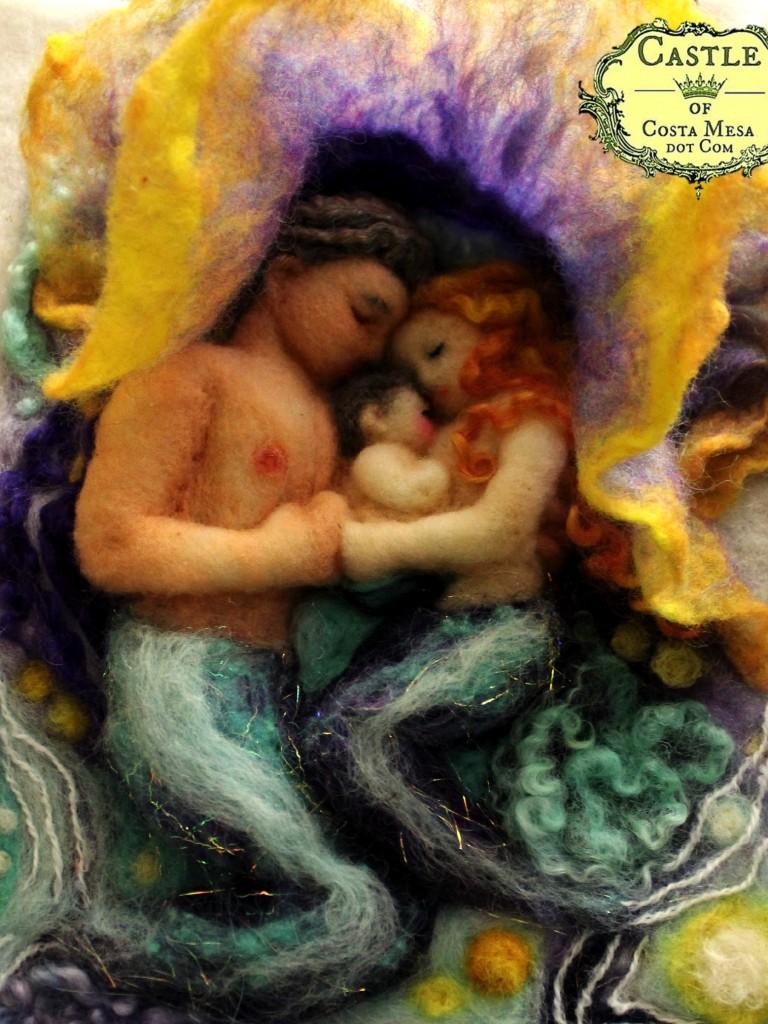 150115 Sleeping Mermaid Family 7832