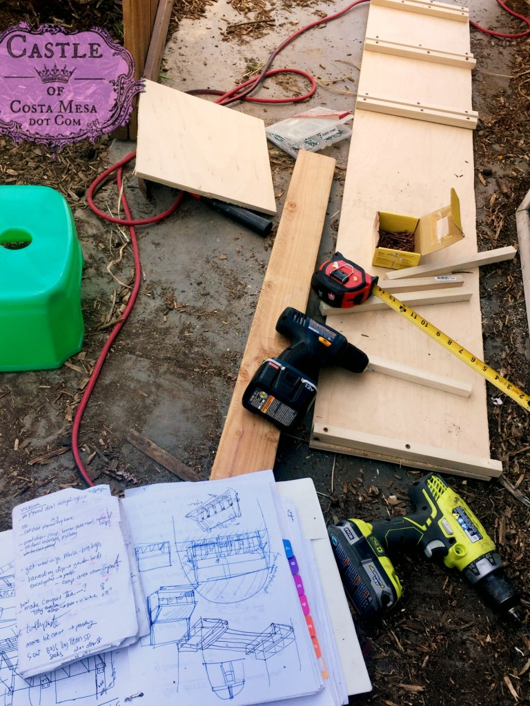 170508 Building chicken nesting boxes 9061
