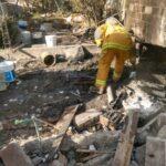 Explosión de polvorín deja 5 lesionados en Tultepec