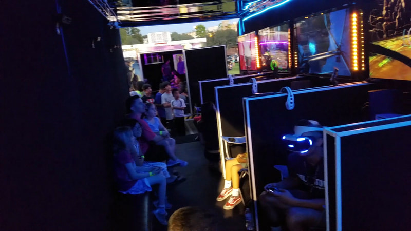 Virtual Reality Game Truck