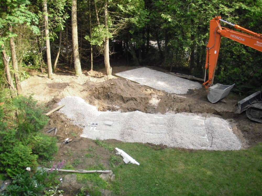 cottage septic bed