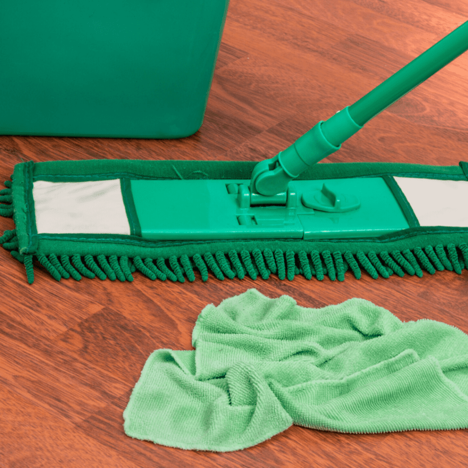 eco-friendly floor cleaning with steam