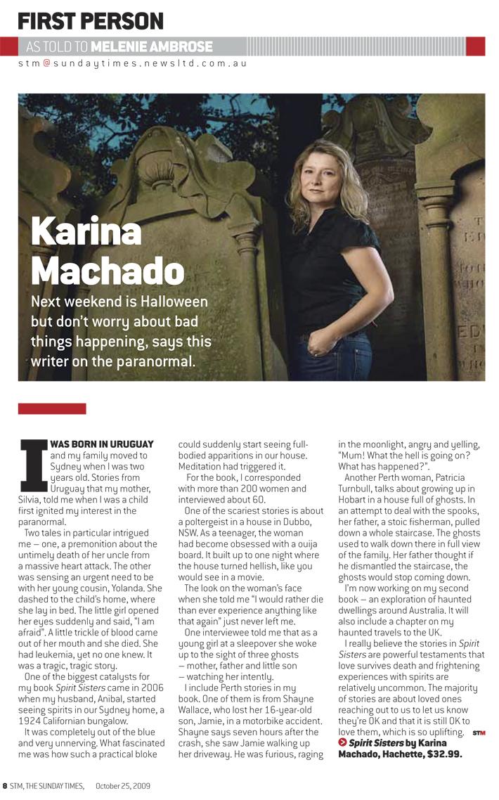 Karina Machado article in STM