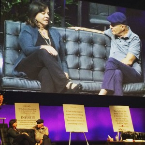 Seeing the late Wayne Dyer in conversation with Anita Moorjani in Melbourne last August.