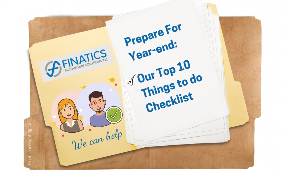 Prepare for year-end with our top 10 things to do checklist