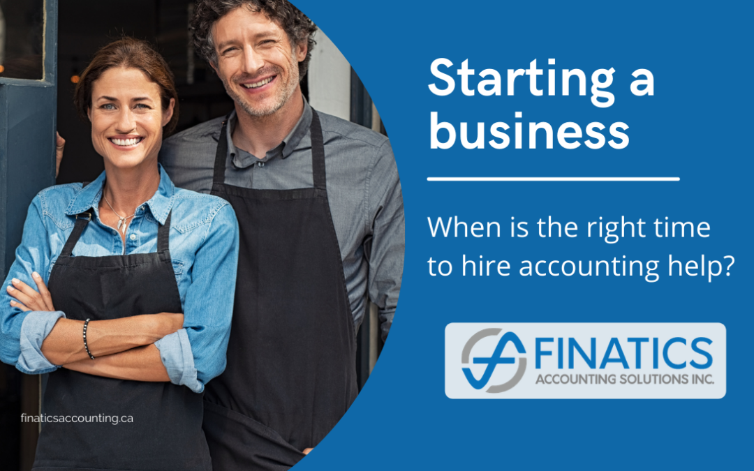 Starting a business: When is the right time to hire accounting help?