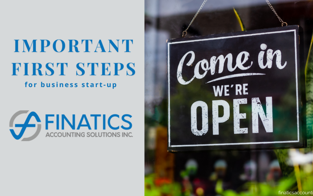 Important first steps for your business start-up