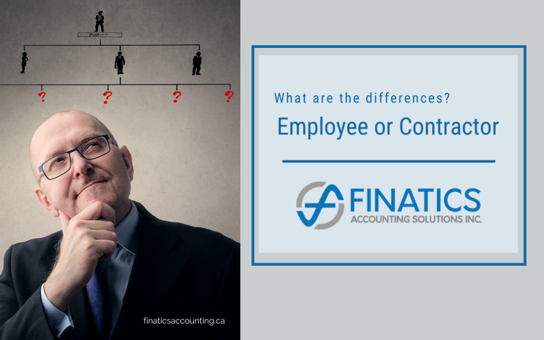 Hiring:  What are the differences between an Employee or Contractor?