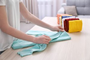 common mistakes to avoid when folding clothes