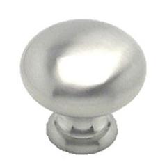 Brushed Nickel Knob