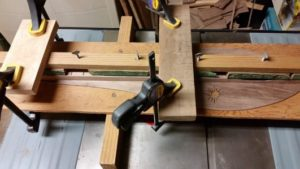 fretboard install
