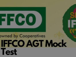 IFFCO AGT MOCK TEST