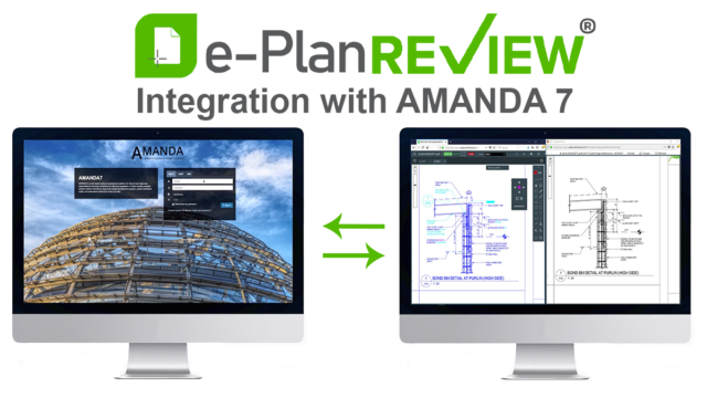 e-PlanREVIEW's Seamless Integration to AMANDA Permitting
