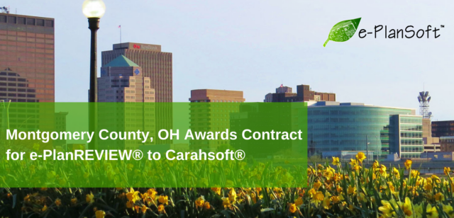 Montgomery County, OH Awards Contract for e-PlanREVIEW® to Carahsoft®