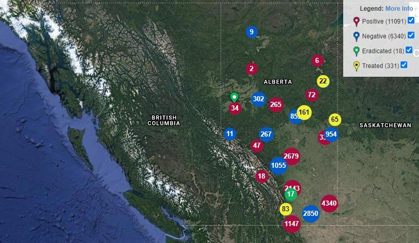 eddmaps Alberta2