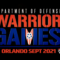 U.S. Army Hosts the DoD Warrior Games in September 2021