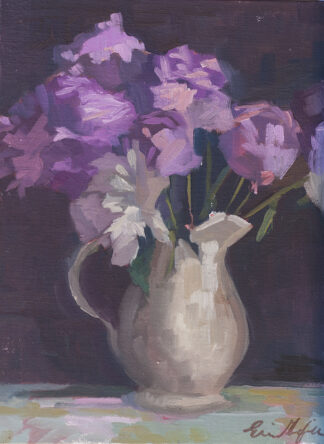 Peonies II by Erin Lee Gafill