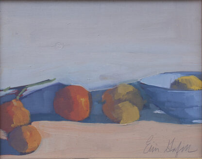Lemons in a Bowl, Fruit from the Tree by Erin Lee Gafill