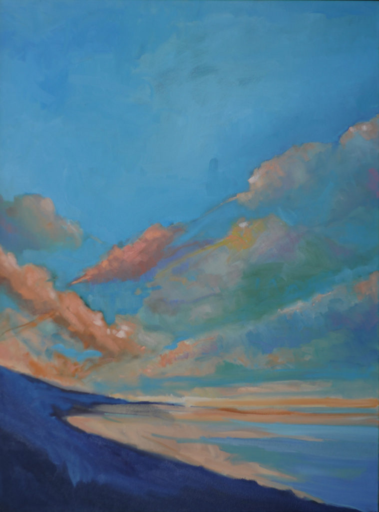 Looking South, Coast, Sky by Erin Lee Gafill