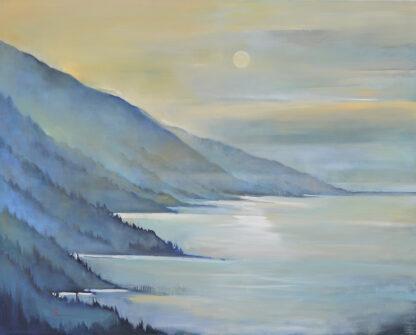 Night Sky, Big Sur by Erin Lee Gafill