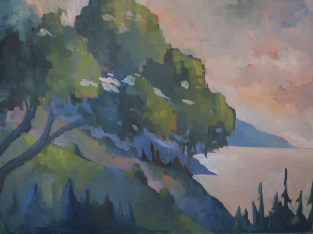 Morning at Nepenthe by Erin Lee Gafill