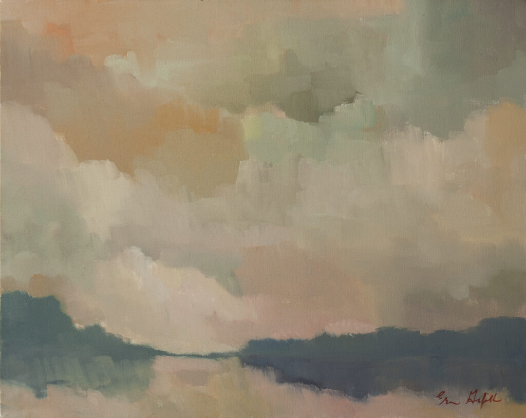 Dawn, Water's Edge by Erin Lee Gafill