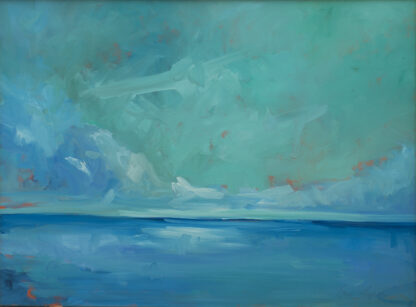 Sky, Water, Clouds by Erin Lee Gafill