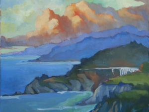 Clouds Over Bixby Bridge - Fine Art Print