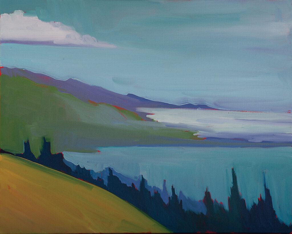 Fog Bank, Big Sur by Erin Lee Gafill