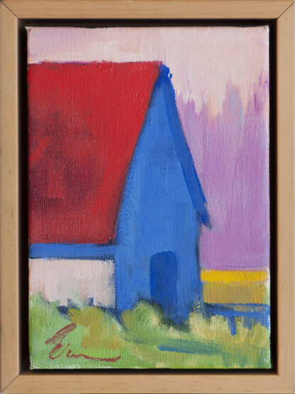 Red, Mauve, Blue by Erin Lee Gafill