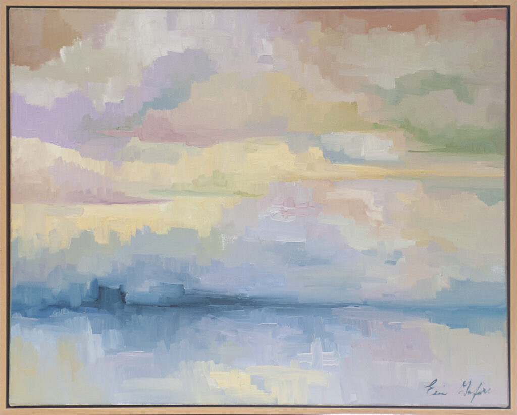 Clouds over Water by Erin Lee Gafill