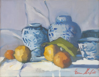 Chinese Pots, Fruit from the Orchard by Erin Lee Gafill