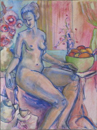 Nude with Teapot by Erin Lee Gafill