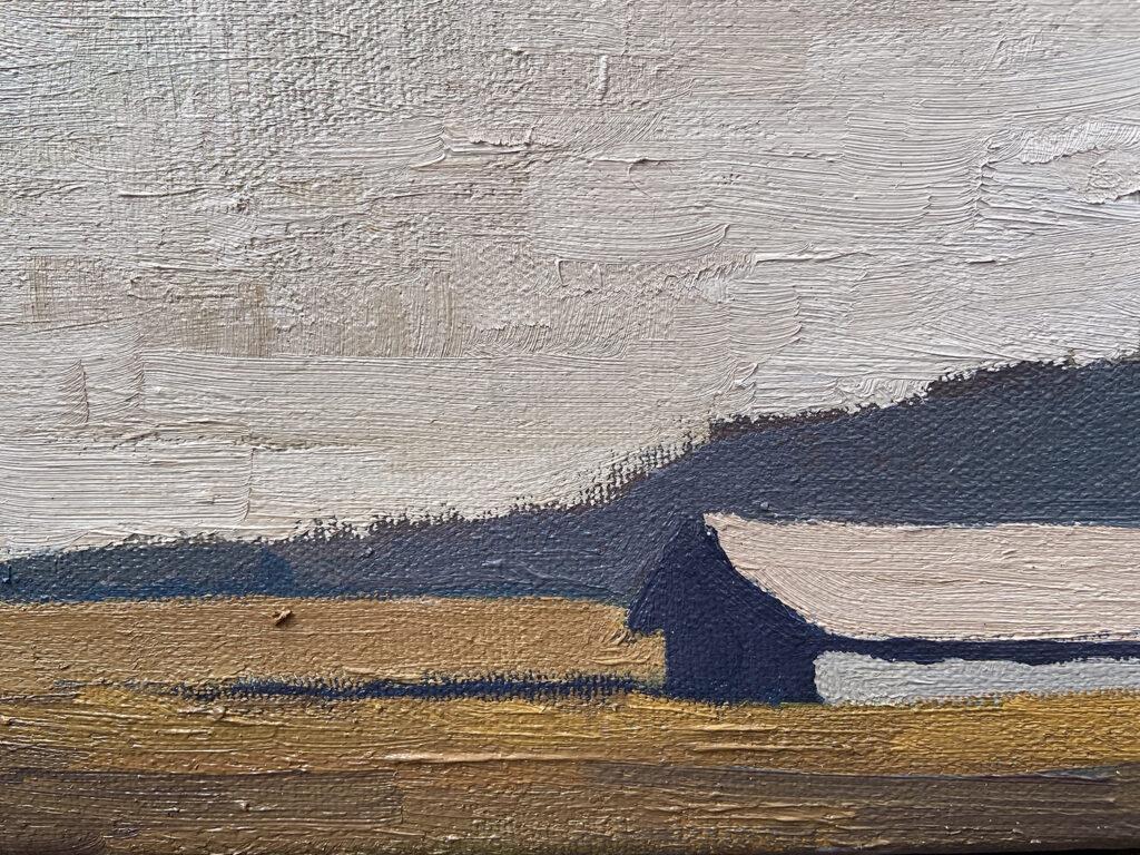 Barn, Creamery Meadow by Erin Lee Gafill