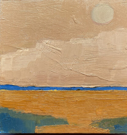 Moon Over Big Sur by Erin Lee Gafill